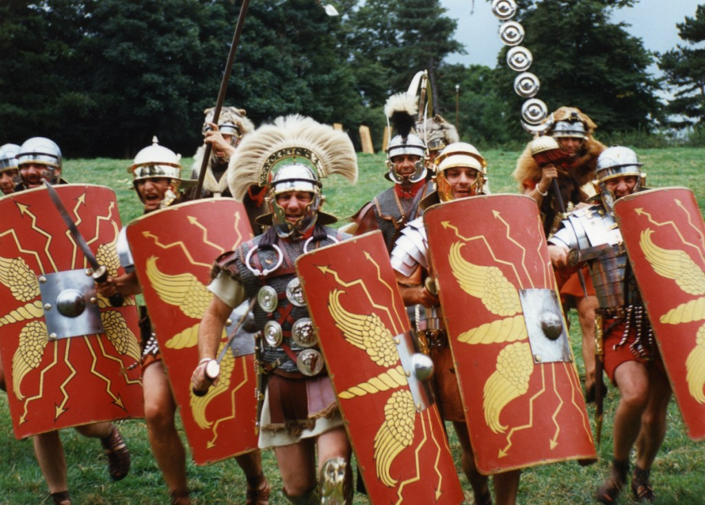 The Roman Army leaves Britain, abandoning the Britons to the mercies of the invading Saxons