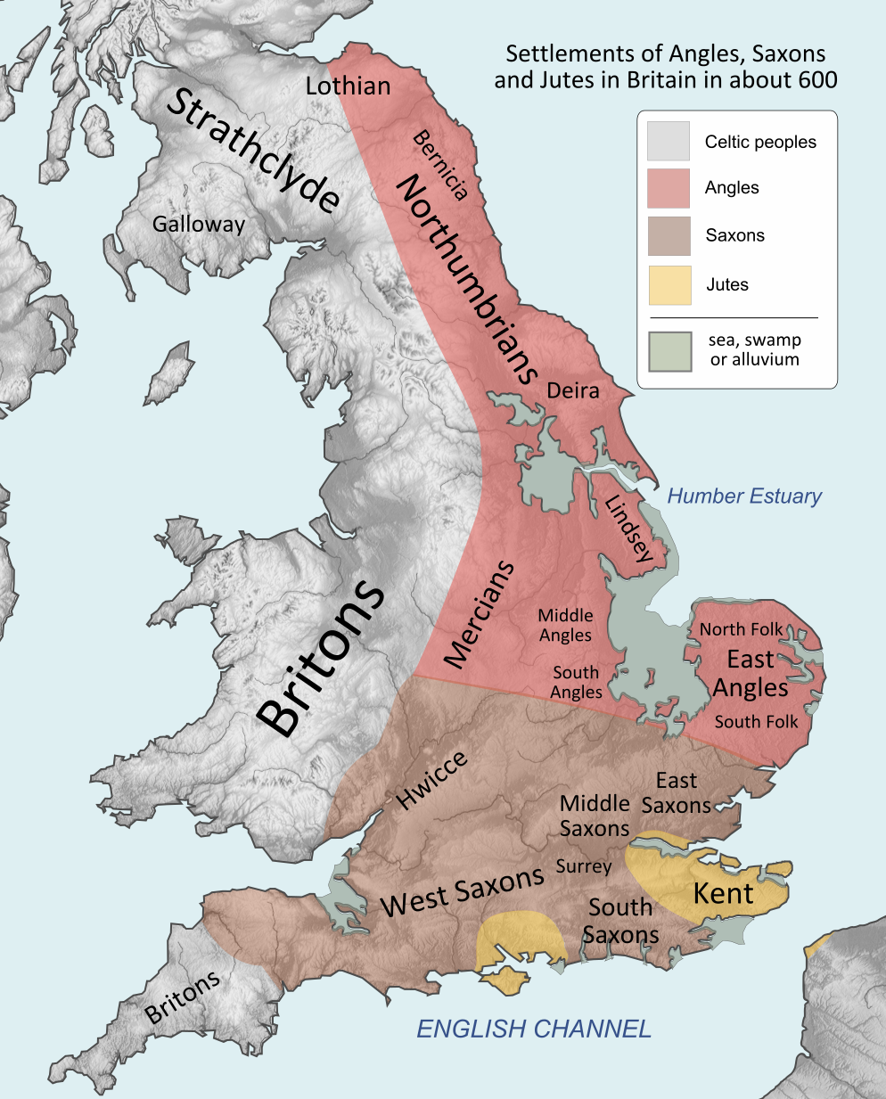 England before the Danelaw