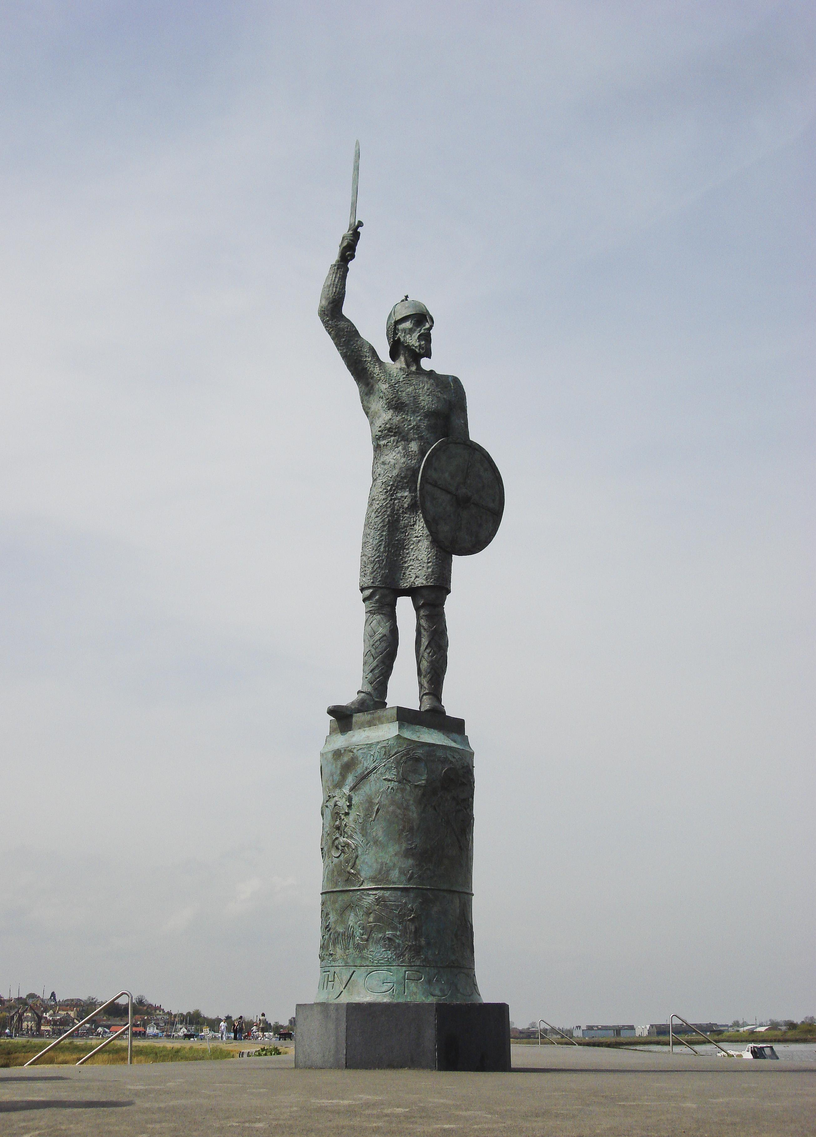 Brythnoth Statue, Maldon