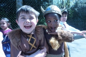 Young Viking Warriors at Ashgrove School, Bromley