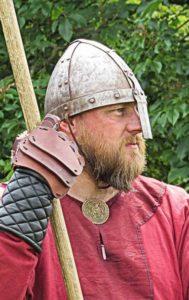 Battle is serious business for Sigurd Grevlingvinr  aka Julian Green