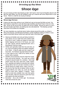 Costume Ideas For Stone Age Easy